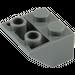 LEGO Dark Stone Gray Slope 2 x 2 (45°) Inverted (3660)