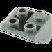 LEGO Dark Stone Gray Slope 2 x 2 (45°) Inverted (3676)