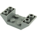 LEGO Dark Stone Gray Slope 2 x 4 (45°) Double Inverted with Open Center (4871)