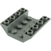 LEGO Dark Stone Gray Slope 4 x 4 (45°) Double Inverted with Open Center (No Holes) (4854)