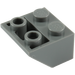 LEGO Dark Stone Gray Slope 45° 2 x 2 Inverted (3660)