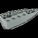 LEGO Dark Stone Gray Wedge 2 x 6 Double Inverted Left (41765)