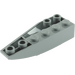 LEGO Dark Stone Gray Wedge 2 x 6 Double Inverted Right (41764)