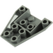 LEGO Dark Stone Gray Wedge 4 x 4 Triple Inverted without Reinforced Studs (4855)