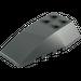 LEGO Dark Stone Gray Wedge 6 x 4 Triple Curved (43712)