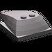 LEGO Dark Stone Gray Wedge 6 x 4 x 1.333 with 4 x 4 Base (93591)