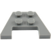 LEGO Dark Stone Gray Wedge Plate 3 x 4 with Stud Notches (28842 / 48183)
