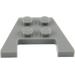 LEGO Dark Stone Gray Wedge Plate 3 x 4 with Stud Notches (4859 / 28842 / 48183)
