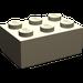 LEGO Dark Tan Brick 2 x 3 (3002)