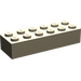 LEGO Dark Tan Brick 2 x 6 (44237)