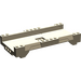 LEGO Dark Tan Car Track 16 x 8 x 2 Straight (42936)