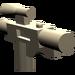 LEGO Dark Tan Minifig Gun Short Blaster