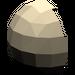 LEGO Dark Tan Minifig Helmet Bubble Half (61287)