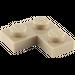 LEGO Dark Tan Plate 2 x 2 Corner (2420)