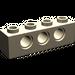 LEGO Dark Tan Technic Brick 1 x 4 with Holes