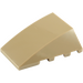 LEGO Dark Tan Wedge 4 x 4 Triple Curved without Studs (47753)