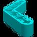 LEGO Dark Turquoise Beam Bent 53 Degrees, 4 and 4 Holes (32348)