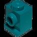 LEGO Dark Turquoise Brick 1 x 1 with Headlight and Slot (4070)