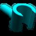 LEGO Dark Turquoise Minifig Hand (3820)