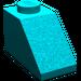 LEGO Dark Turquoise Slope 45° 1 x 2 (3040)