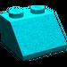 LEGO Dark Turquoise Slope 45° 2 x 2 (3039)