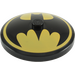 LEGO Dish 4 x 4 Inverted With Batman Logo with Solid Stud (3960 / 76631)