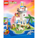 LEGO Dolphin Point Set 6414