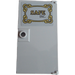 """LEGO Door for Frame 1 x 4 x 6 with Stud Handle with """"SAFE INC."""" Sticker (35290)"""