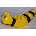 LEGO Duplo Animal Insect Body with Black Stripes