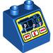 LEGO Duplo Slope 45° 2 x 2 x 1.5 with Decoration (6474 / 29021)