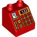 LEGO Duplo Slope 45° 2 x 2 x 1.5 with Decoration (6474 / 37388)