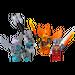 LEGO Fire and Ice Minifigure Accessory Set (850913)