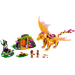 LEGO Fire Dragon's Lava Cave Set 41175