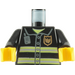 LEGO Fire-Fighter's Torso with Jacket (76382 / 88585)