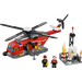 LEGO Fire Helicopter Set with Studs on Sides 60010-2