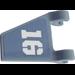 "LEGO Flag 2 x 2 Trapezoid with ""16"" (Left) Sticker (44676)"