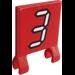 LEGO Flag 2 x 2 with 3 Sticker (2335)