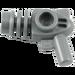 LEGO Argent plat Minifig Ray Arme à feu (13608 / 87993)