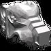 LEGO Flat Silver Wolf`s Head (53457)