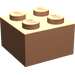 LEGO Flesh Brick 2 x 2 (3003)