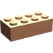 LEGO Flesh Brick 2 x 4 (3001)