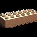 LEGO Flesh Duplo Brick 2 x 6 (2300)