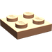 LEGO Chair assiette 2 x 2 (3022)