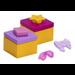LEGO Friends Advent Calendar Set 41420-1 Subset Day 17 - Christmas Presents