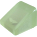 LEGO Glow in the Dark Transparent Green Slope 1 x 1 (31°) (50746)