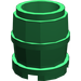 LEGO Green Barrel 2 x 2 x 1.667