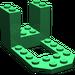 LEGO Green Bracket 4 x 7 x 3 (30250)