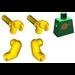 LEGO Green Classic Space Minifig Torso