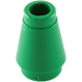 LEGO Green Cone 1 x 1 with Top Groove (59900)