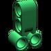 LEGO Green Cross Block 2 X 3 with Four Pinholes (32557)